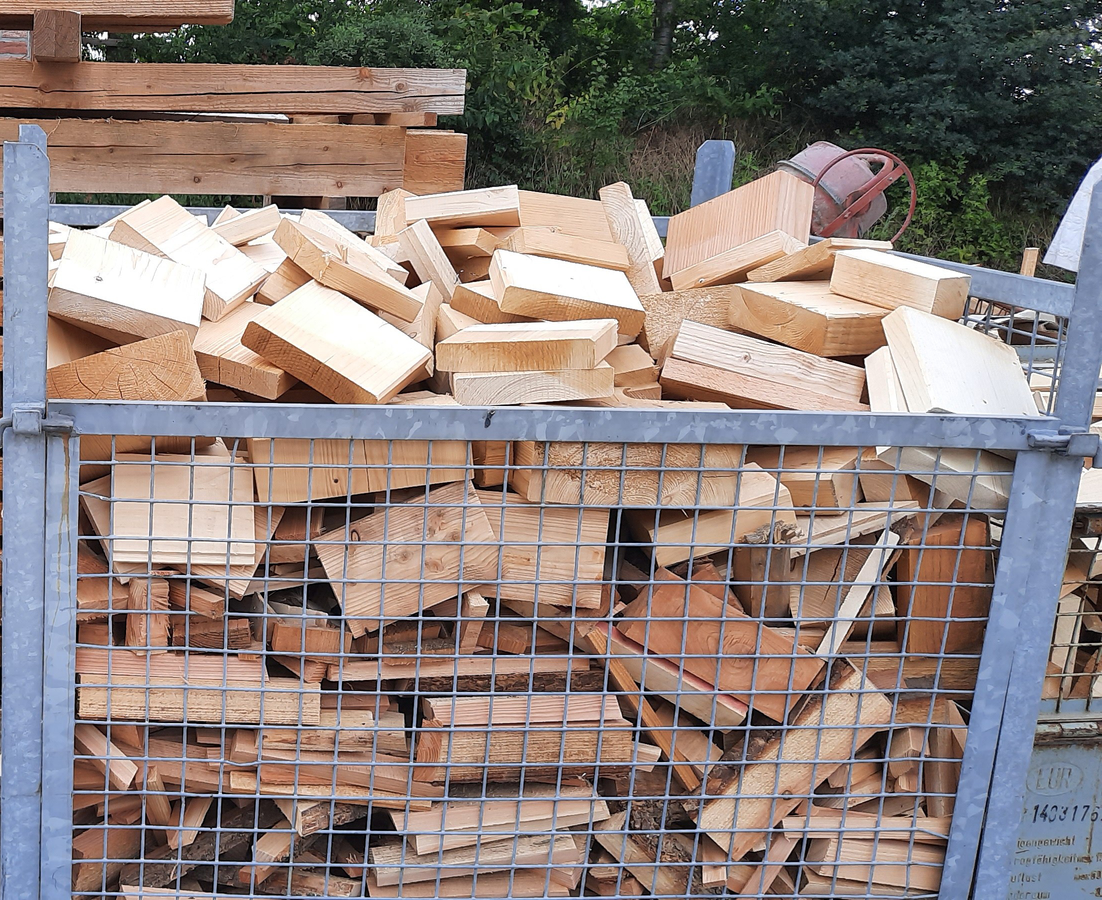 Feuerholz ohne Box